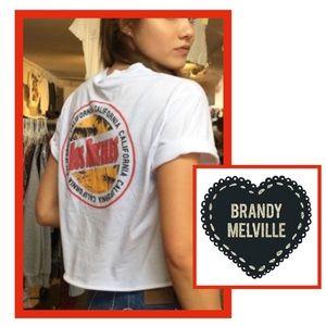 Brandy Melville Los Angeles CA t shirt